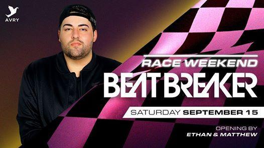 Race Weekend Sat 15 Sept - BeatBreaker (US)