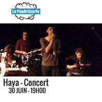 Concert  Haya  30 juin  19H00