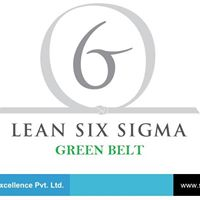 International Accredited 6 Sigma Green Belt Certification Course