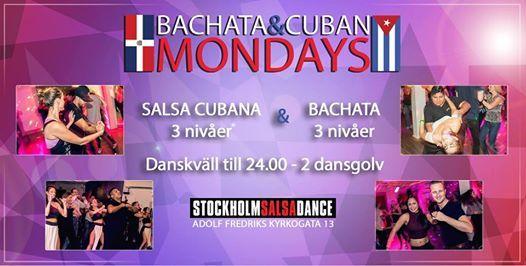 SSD Mondays Salsa Cubana & Bachata Drop-in 20 Majl