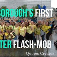 Peterboroughs First - Laughter Flash Mob (Free to Attend)