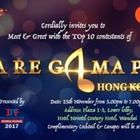 Meet &amp Greet with SaReGaMaPa HK Top 10 over Cocktail &amp Canapes
