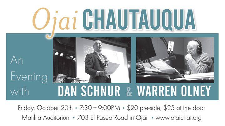 An Evening with Dan Schnur and Warren Olney