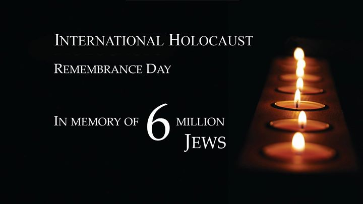 Image result for international holocaust remembrance day 2017