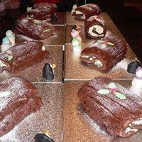 Adult Chocolate Yule log session