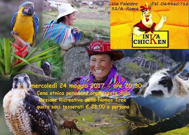 Cena etnica alla scoperta della cucina peruviana