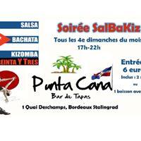 SalBaKiz au Punta Cana avec Los 33