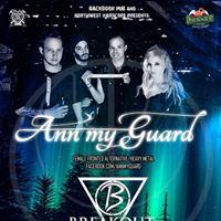Concert Ann My Guard [HU] and Breakout la Satu Mare in Backdoor