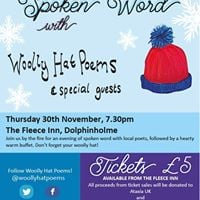 Woolly Hat Poems &amp Special Guests - Library Fundraiser