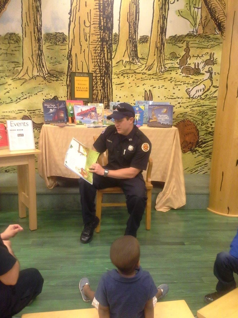 Real Men Read and Write a Literacy Event