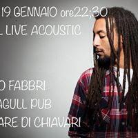 Raphael acoustic show with Ermanno Fabri al Blue Seagull Pub