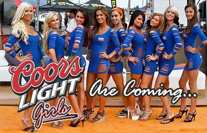 girls Coors light