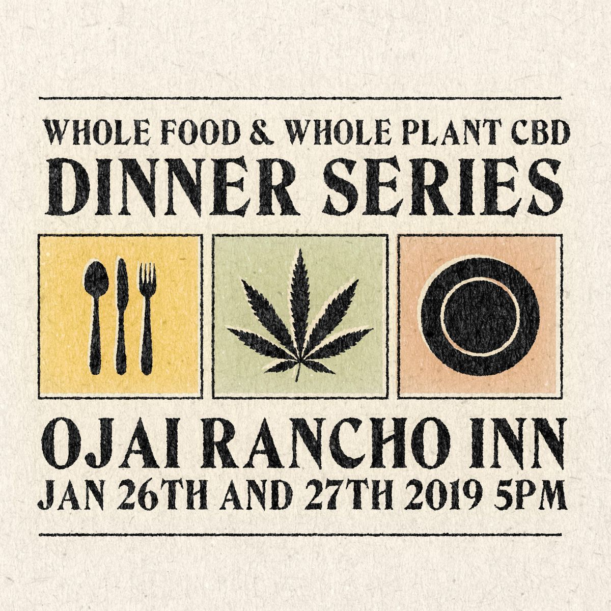 Family Supper Plank  Whole Food  Whole Plant CBD Dinner