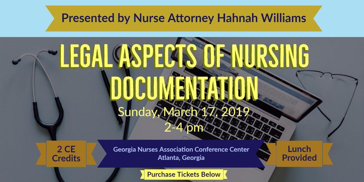 Webinar - Legal Aspects of Nursing Documentation