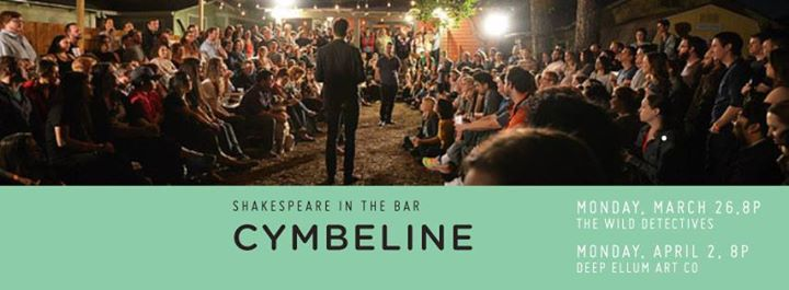 Shakespeare in the Bar Presents Cymbeline