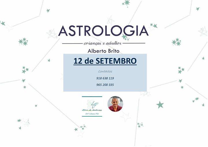 Consulta de Astrologia Pessoal e Educacional com Alberto Brito