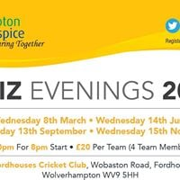 Compton Hospice Quiz Evening - 8th March 2017