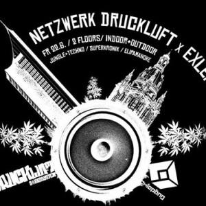 Netzwerk DRUCKluft x exLEpng