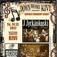 Double Whammy Night at Down Home Kivi