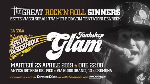 The Great RockNRoll Sinners  La gola  Junkshop Glam