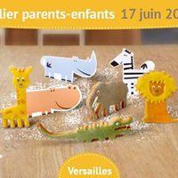Atelier Mes Sabls de la Jungle  Versailles