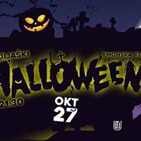Vse Dijaki Halloween  27. Okt  Emonska Klet  15