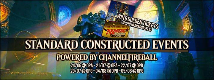 Big standard constructed tournament (win a golden ticket)