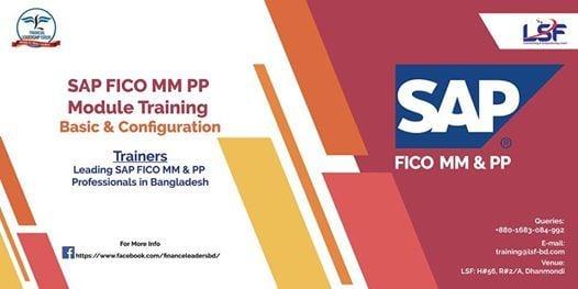 ERP SAP FICO PP & MM Module Training Course at Financial Leadership