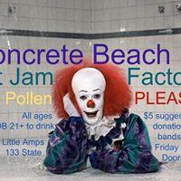 Concrete BeachSmall PollenPLEASE.Hot Jam Factory