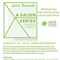 Arts Found A Salon Series Late Life Creativity