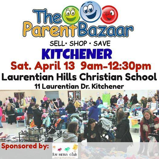 The Parent Bazaar Kitchener Spring Sale
