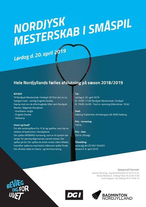 Nordjysk Mesterskab i Smspil 2019
