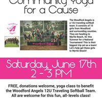 Woodford Angels Yoga Fundraiser