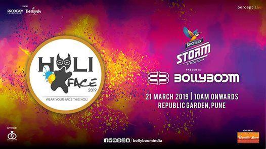 Holi Face by Prodiggy Events at The Irish Village
