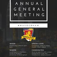 Annual General Meeting MASOCBham