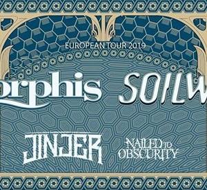 Amorphis &amp Soilwork EU-Tour  Antwerp