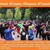 FlashMob Cosplay Reynosa
