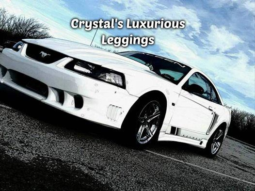 Crystals Luxurious Leggings At Ridgely Car Motorcycle Show - Ridgely car show