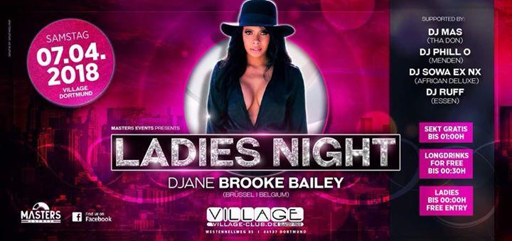 Ladies Night ft DJane Brooke Bailey I Sa 07.04.18