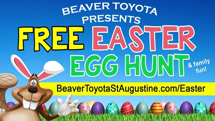 Free Easter Egg Hunt U0026 Cookout. Beaver Toyota Of St. Augustine ...