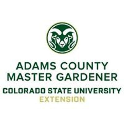 Colorado Master Gardeners, Adams County Extension