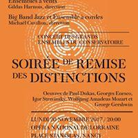 Concert des grands ensembles du Conservatoire