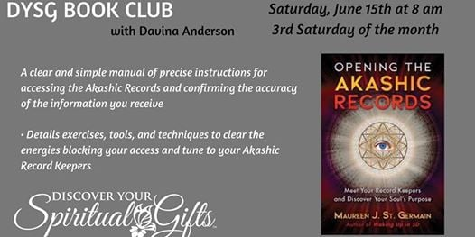 DYSG Book Club - Opening the Akashic Records