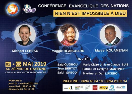 CEN 2019 guyane tout est possible avec DIEU (francophonie)