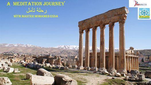 A Meditation Journey at Baalbek Temples.