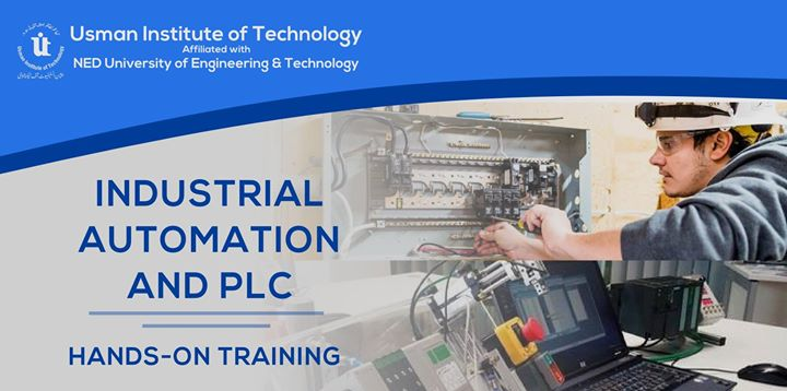Industrial Automation and PLC (Short Course) at Usman Institute of