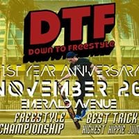 DTF 1st Year Anniversary Skate Party