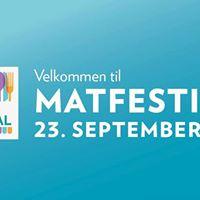 Matfestival p Kilden kjpesenter