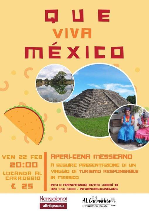 Que Viva Mxico - Apericena messicano