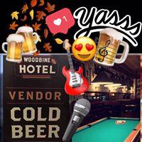 Woodbine Beer Vendor open 6 days a week Mon to Sat